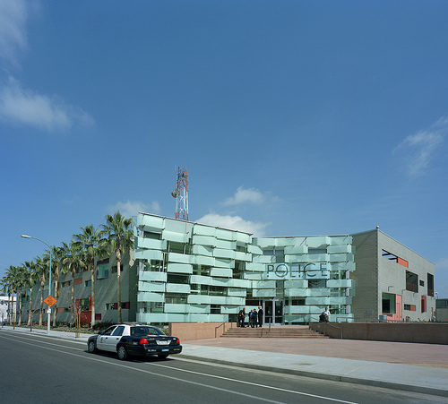 Hollenbeck Community Police Station, by AC Martin (Photo- Timothy Hursley)