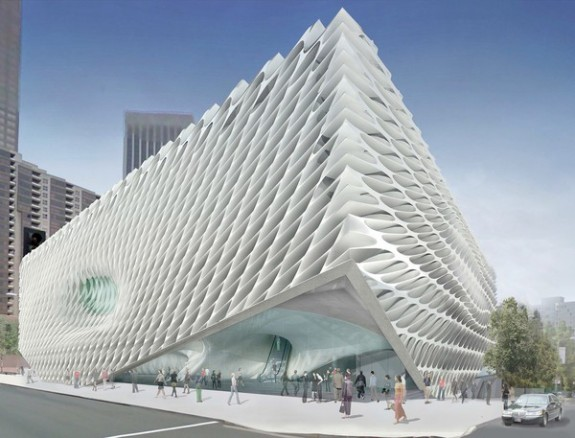 Early rendering of The Broad