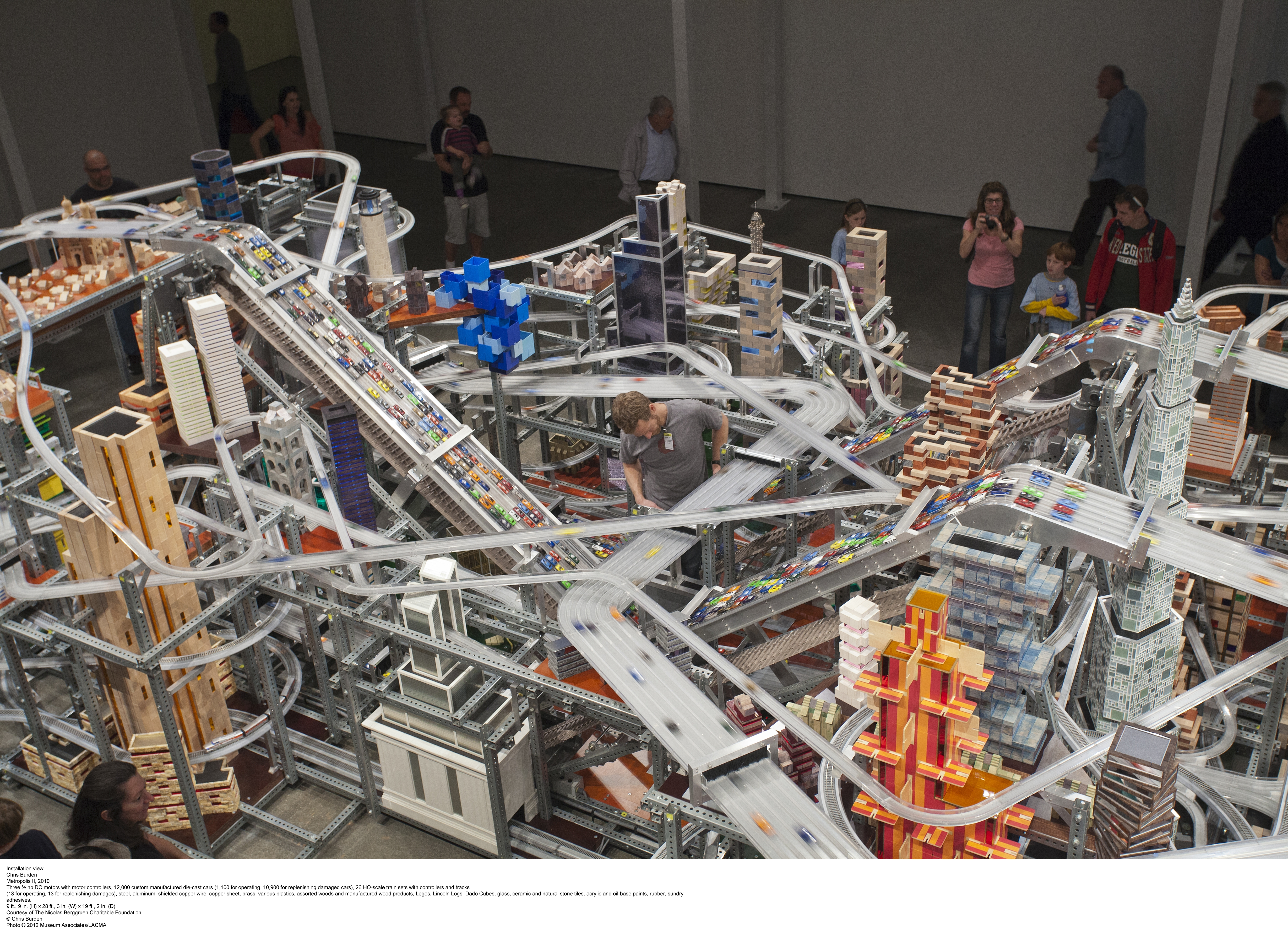 Metropolis II from above