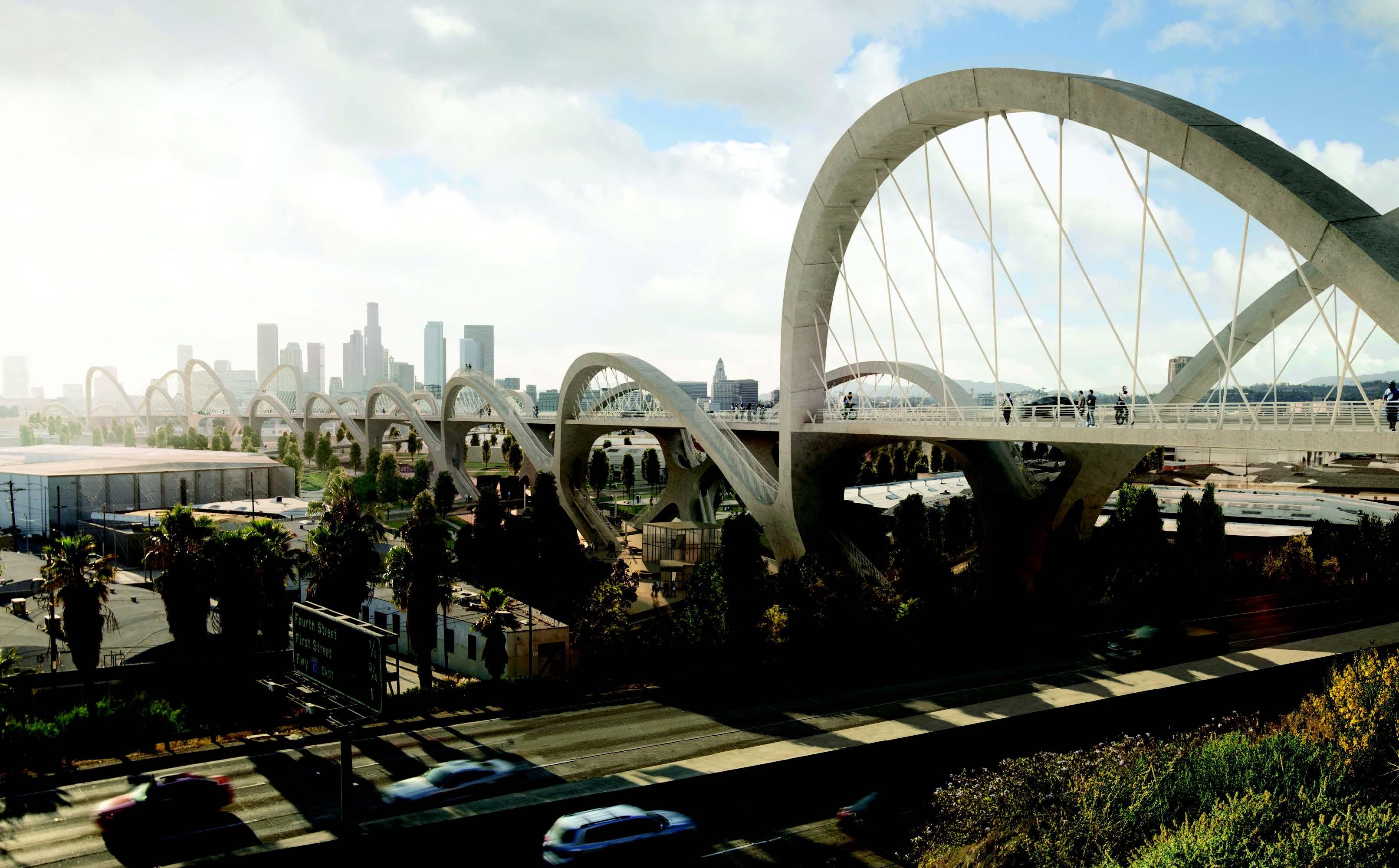 HNTB Bridge from highway