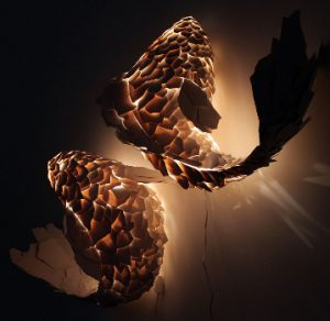Gehry new fish lamp