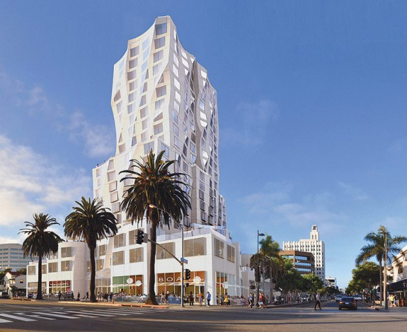 Gehry tower santa monica