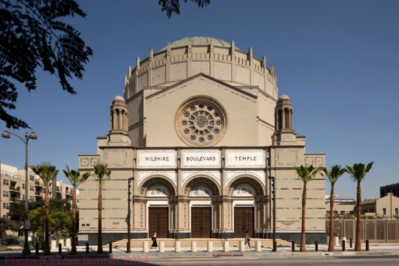 Wilshire Blvd. Temple / Photography by Tom Bonner. Job ID 5959