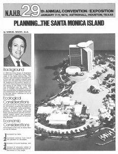 Planning the Santa Monica Island