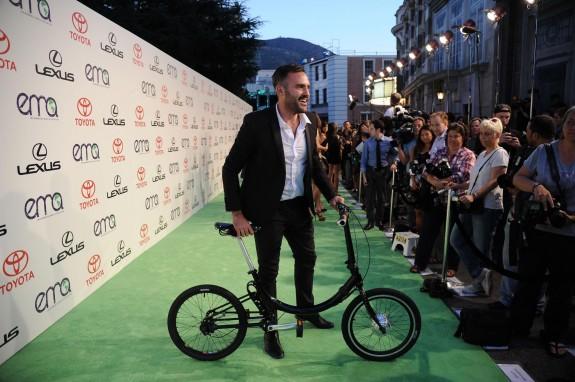Gabe Wartofsky and Bike
