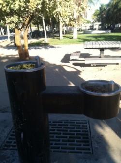 Leimert park water fountain
