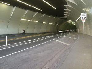 2nd street tunnel bike lane