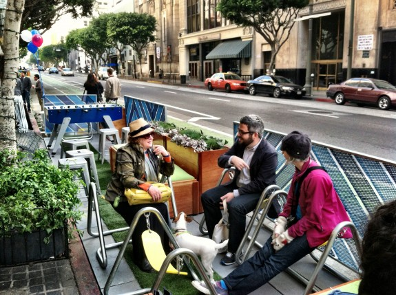 Parklet with Deborah Murphy