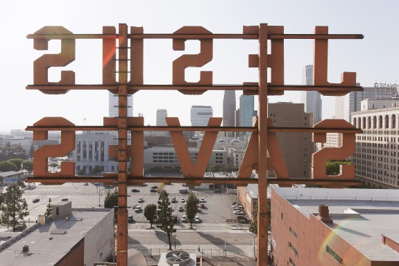 Ace Hotel Downtown LA - Exterior - Jesus Saves Reverse - Photo by Spencer Lowell (4050x2700)