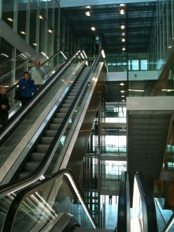 de Rotterdam interior, escalator