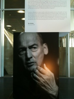 Rem Koolhaas photo in de rotterdam