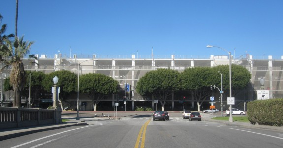 Santa Monica Place parking structure