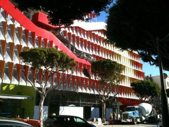 Parking Structure 6 exterior