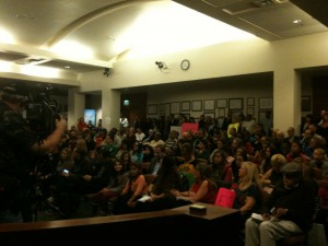 fullhouse at the culver city council meeting