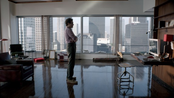 Her, Twombly in highrise apartment