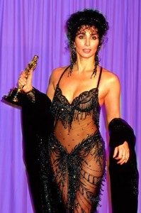 cher 1988 Oscars