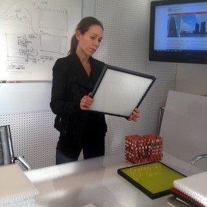 Panelite innovative architectural materials - CEO Emmanuelle Bourlier 030414a