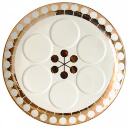 Futura seder plate by Jonathan Adler