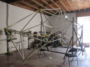spaceframe indoors