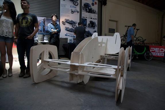 E Flat car