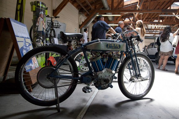 Juicer bike