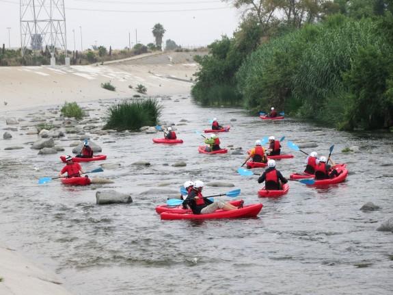 MLA Staff Kayak Trip
