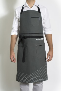 L a designer ellen bennett designs aprons for spacex and for Apron designs and kitchen apron styles