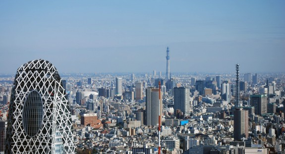 Tokyo skyline with Cocoon Tower in View-Nemanja Dimitric