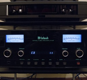 Henry's McIntosh amplifier, which according to Tom and Henry has seductive powers.