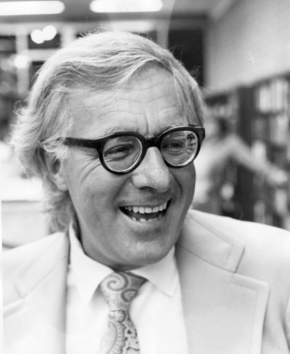 Ray Bradbury circa 1972. Photo by the Los Angeles Public Library Photo Archive