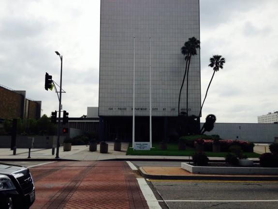 Parker Center, designed by Welton Becket