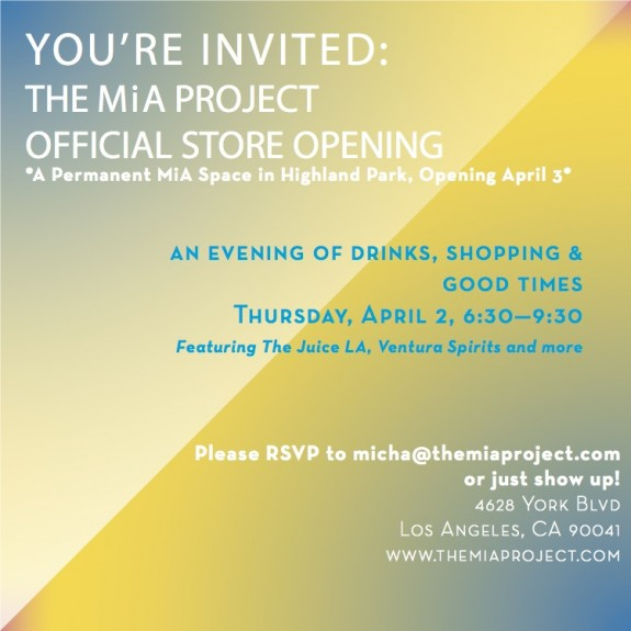 Store Launch Invite