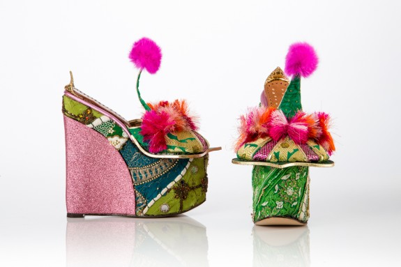Indian-inspired shoes