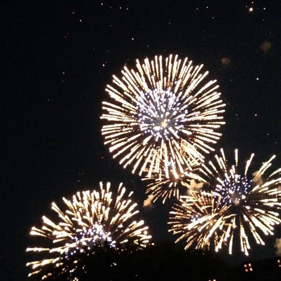 TEmpelhof fireworks