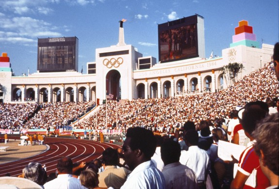 SP_1984 Olympics_Coliseum Interior