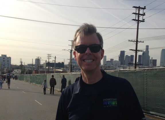 Gary Lee Moore is City Engineer for the City of Los Angeles and has shepherded the replacement bridge process; photo: Frances Anderton