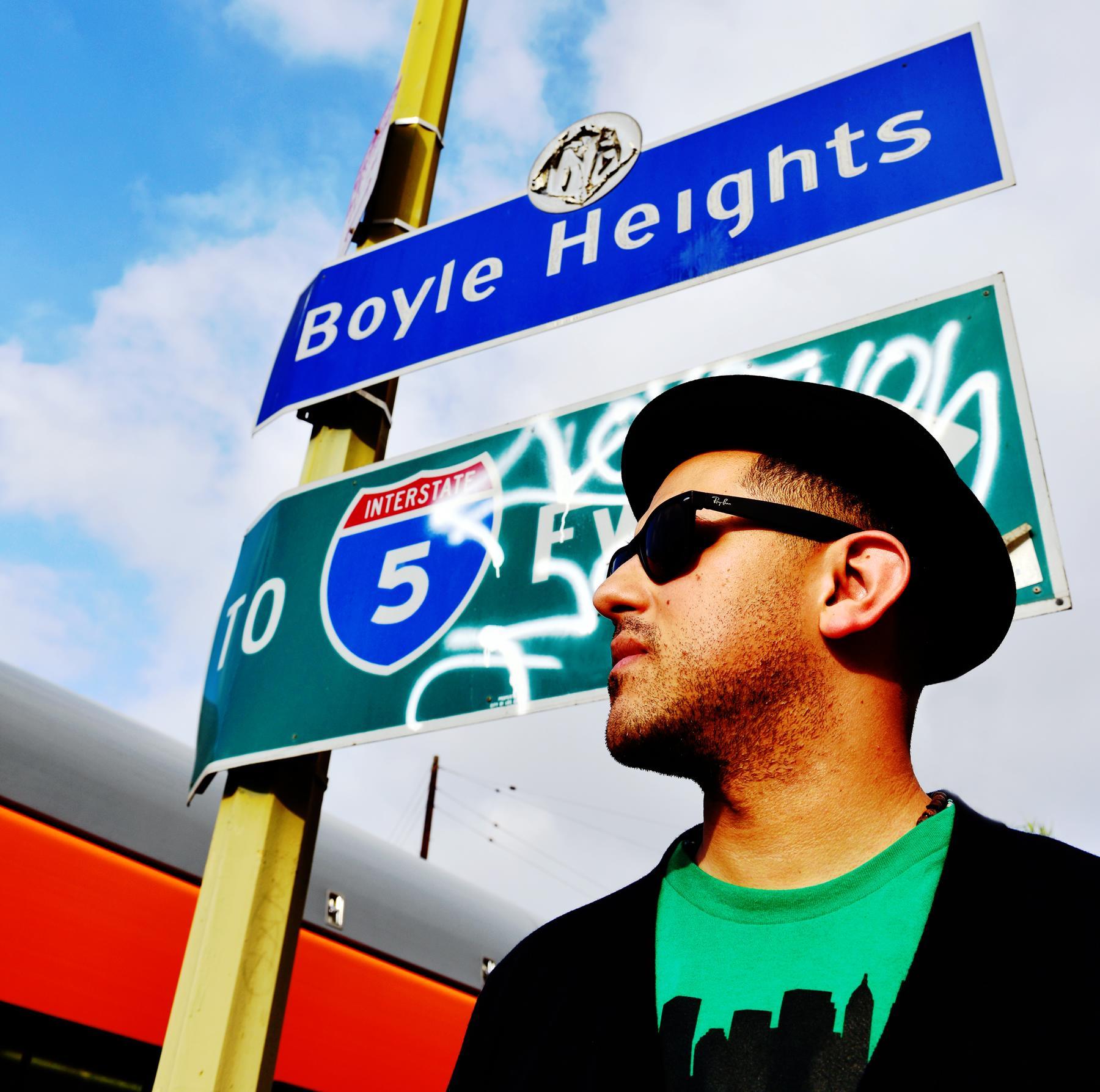Xavi Moreno in East LA Interchange © 2015 Chris Chew, Bluewater Media