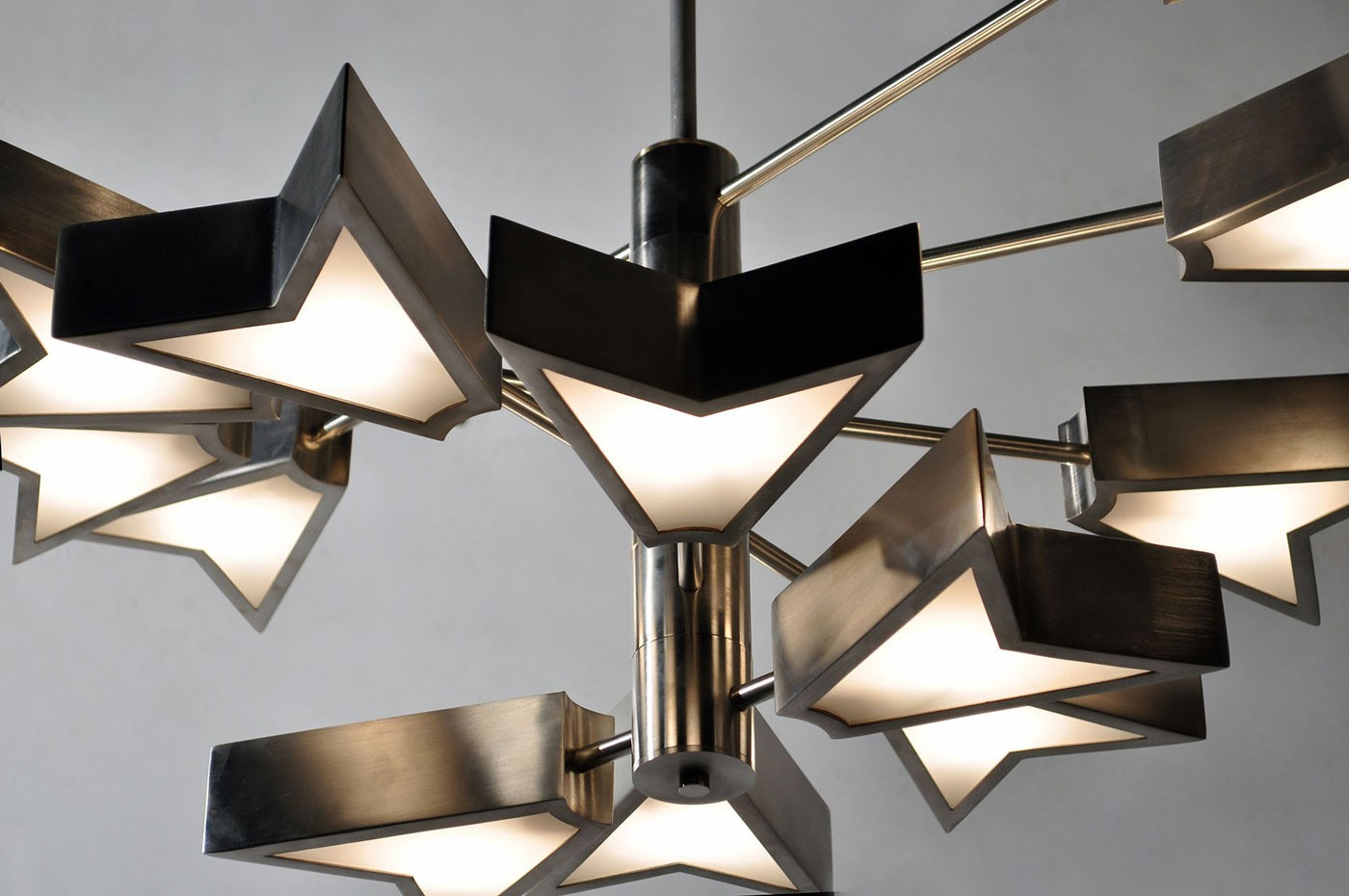 Osiris chandelier by Matthew Fairbank Design, an exhibitor at WestEdge Design Fair