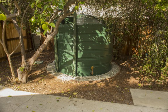 A smart water cistern in North Hollywood. Image courtesy of TreePeople.