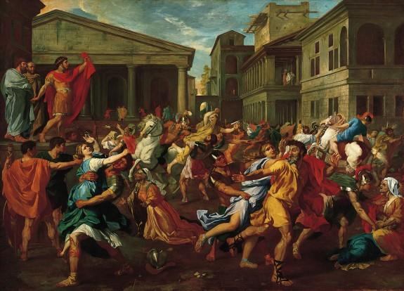 Degas_Rape of the Sabines