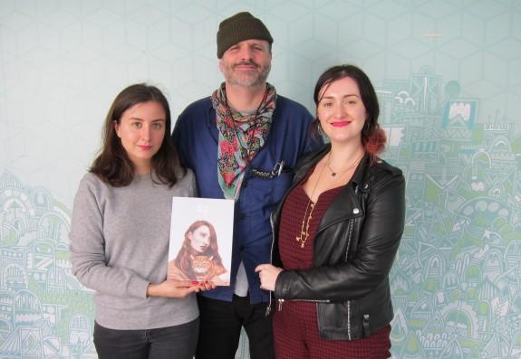 From left: Maria Joudina, Matt Robinson, Gemma Lacey