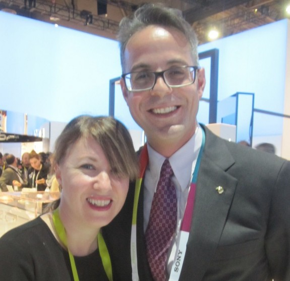 Marissa and Doron, CES