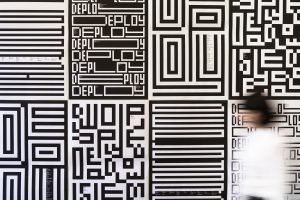 Posters for the MIT Media Lab, designed by Michael Bierut