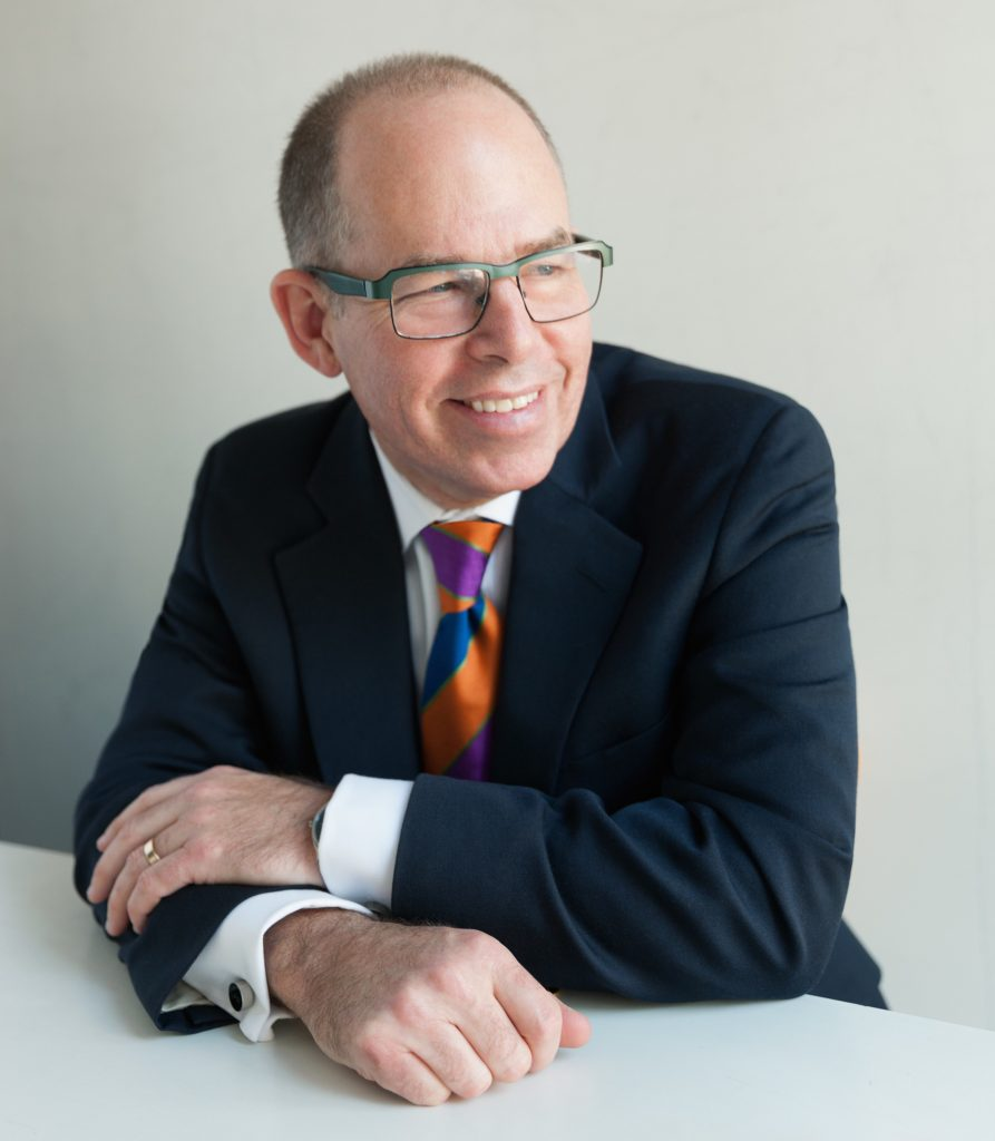 Graphic designer Michael Bierut. Photo by Jake Chessum