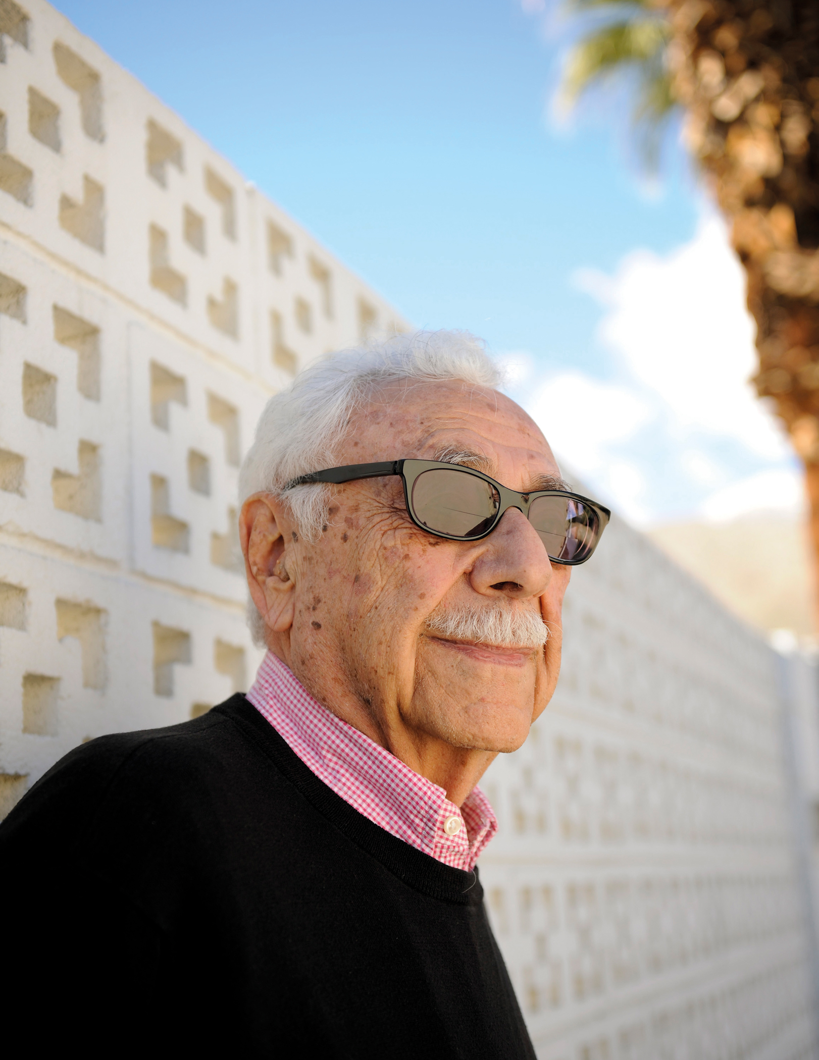 William Krisel, modernist architect. (Photo: James Schnepf/Palm Springs Modern Living)