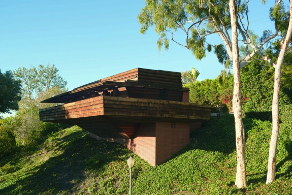 Sturges Houses by Frank Lloyd Wright; photo by Grant Mudford