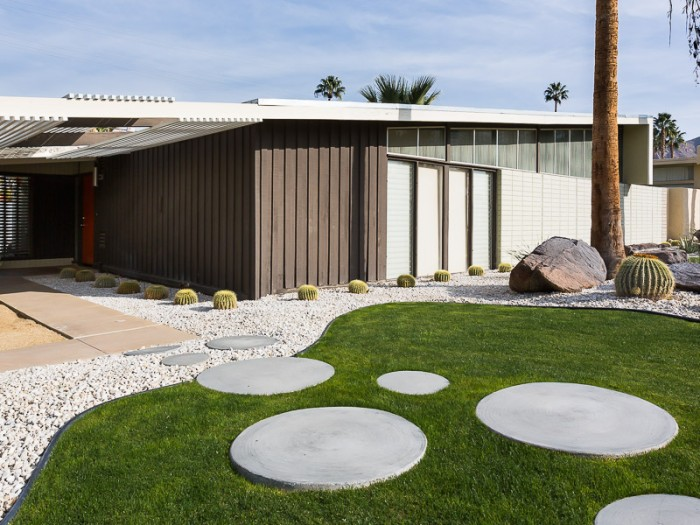 A Twin Palms home designed by William Krisel. (Photo courtesy of Clark Dugger)