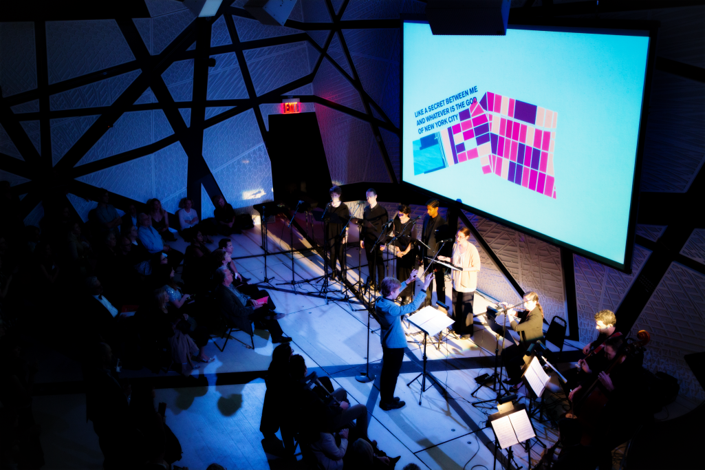 "A performance of ""A Marvelous Order"" at National Sawdust on Nov. 2, 2015"