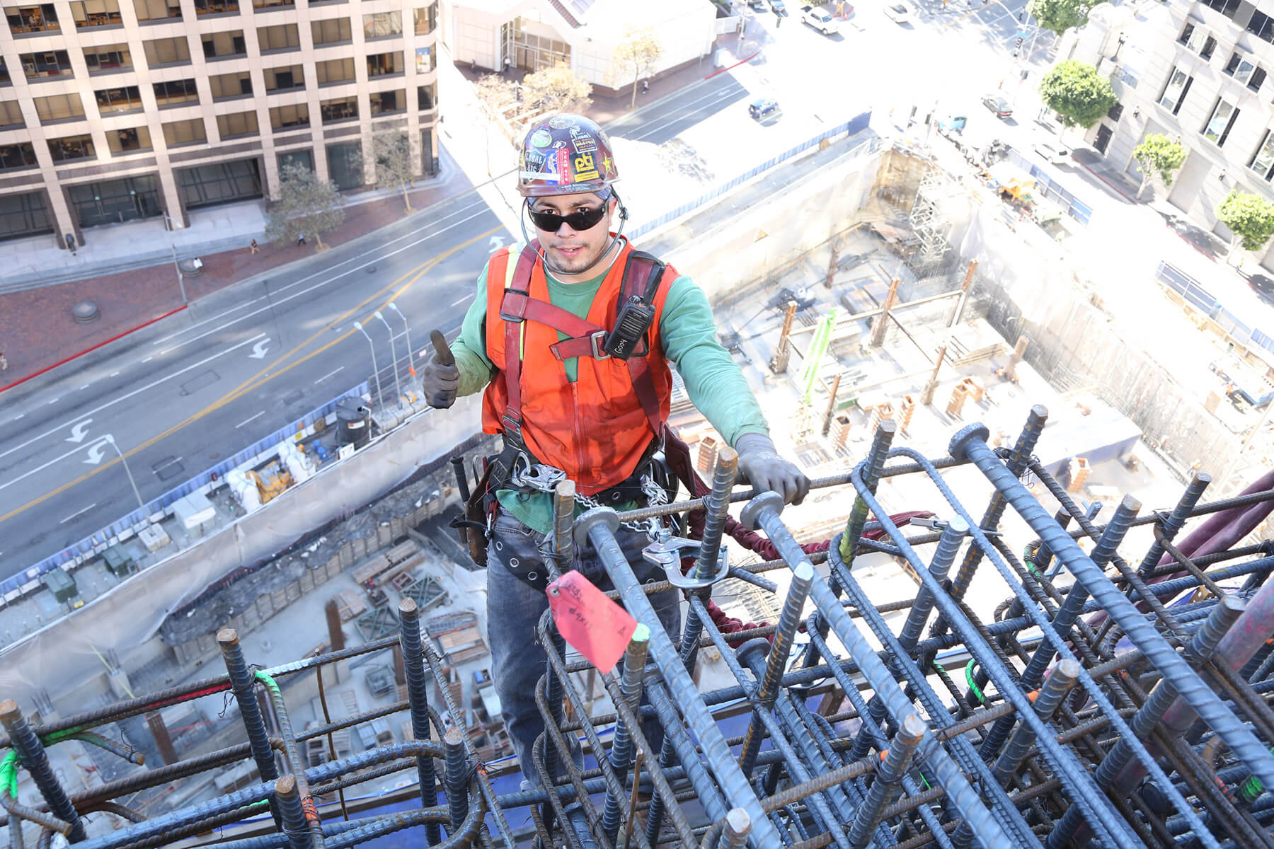 An ironworker with Local 416.