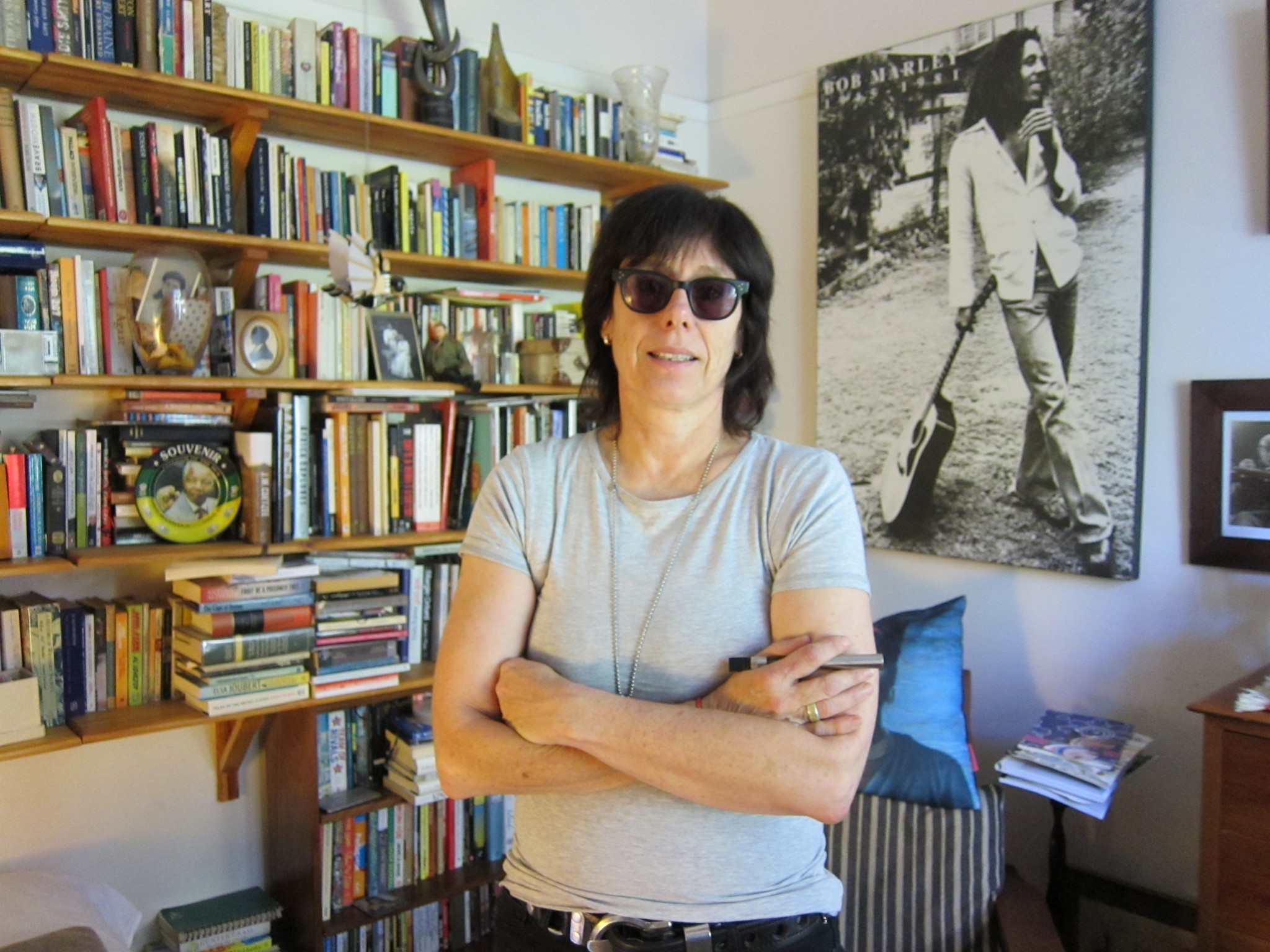 Cape Town-based journalist and author Marianne Thamm